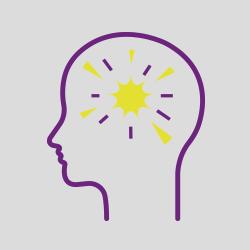 Acquired brain injury icon